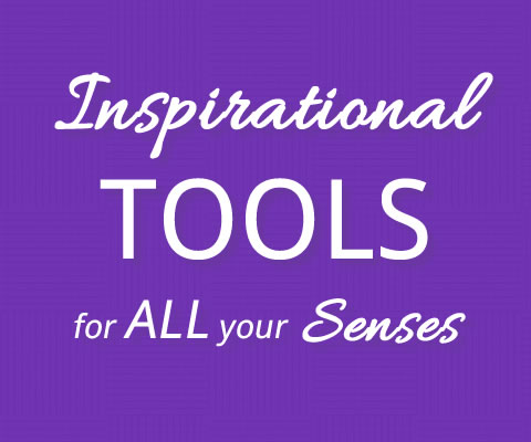 Angela Bushman offers Inspirational Tools for All Your Senses