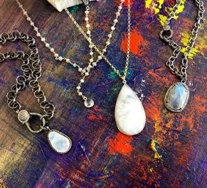 Angela Bushman jewelry collection
